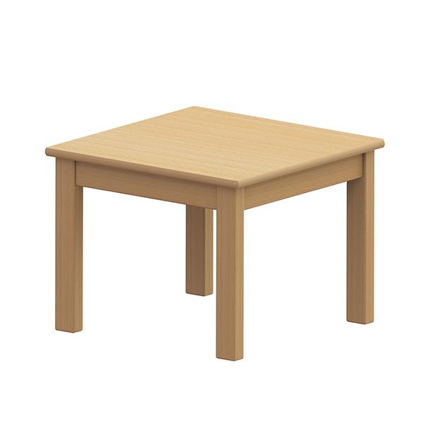 システムテーブル正方形 60×60 高さ46�p 白木