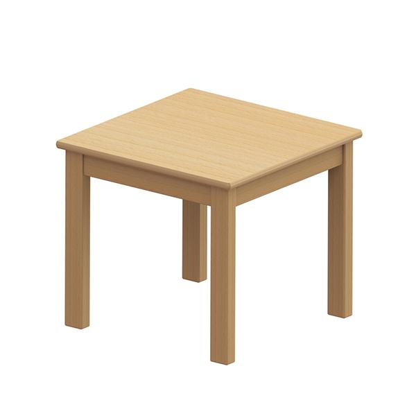 システムテーブル正方形 60×60 高さ53�p 白木