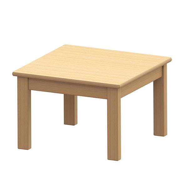 システムテーブル正方形 60×60 高さ40�p 白木
