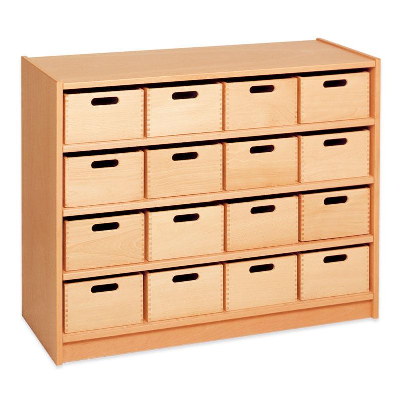 ベカ・カップボード(16木箱つき)