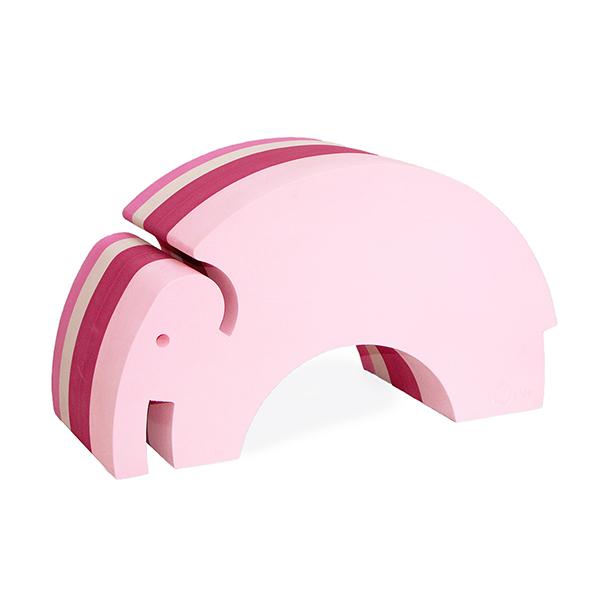 ボブルス ゾウ(ピンク)