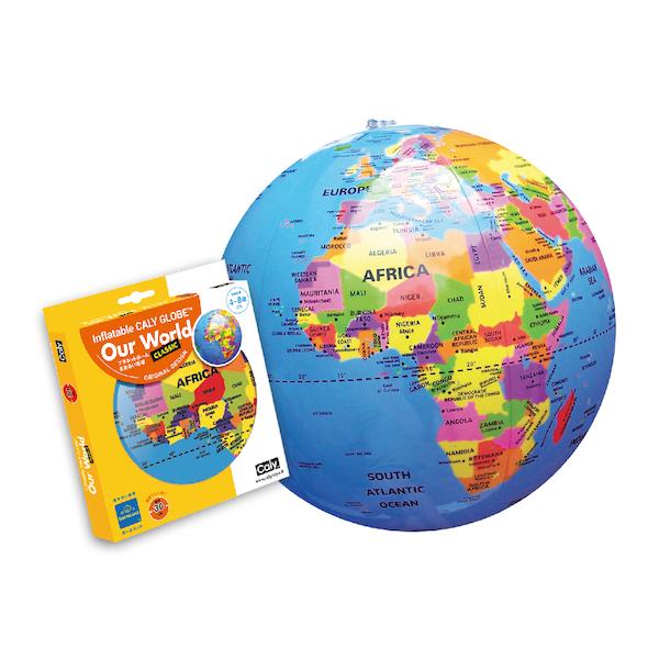 プラネットボール まあるい地球 30cm