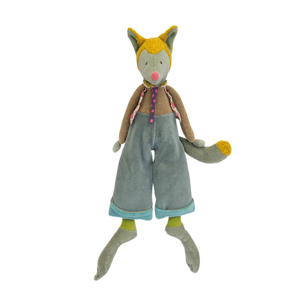 【50%OFF】「タルタンポア」抱き人形・オオカミのルゥルゥ