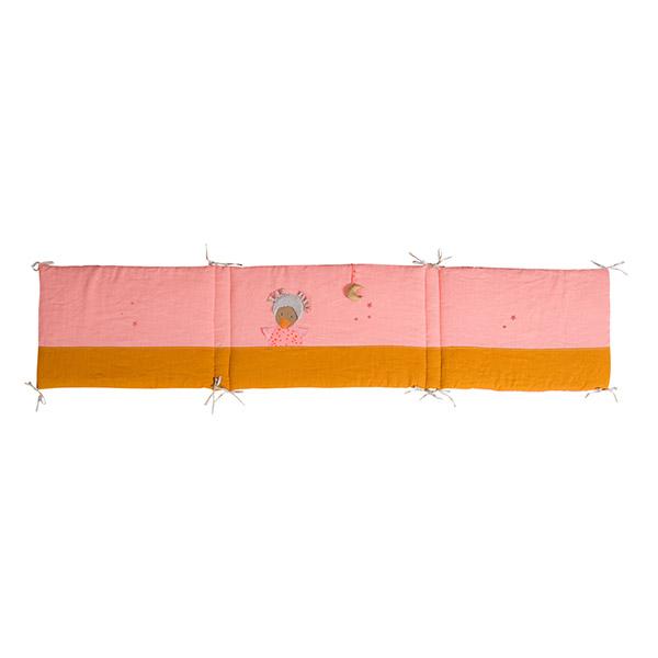 【50%OFF】「タルタンポア」ベッドサイドパネル(ピンク)