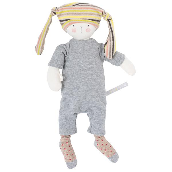 【50%OFF】「プティ・ドゥードゥー」抱き人形しましま帽子の妖精