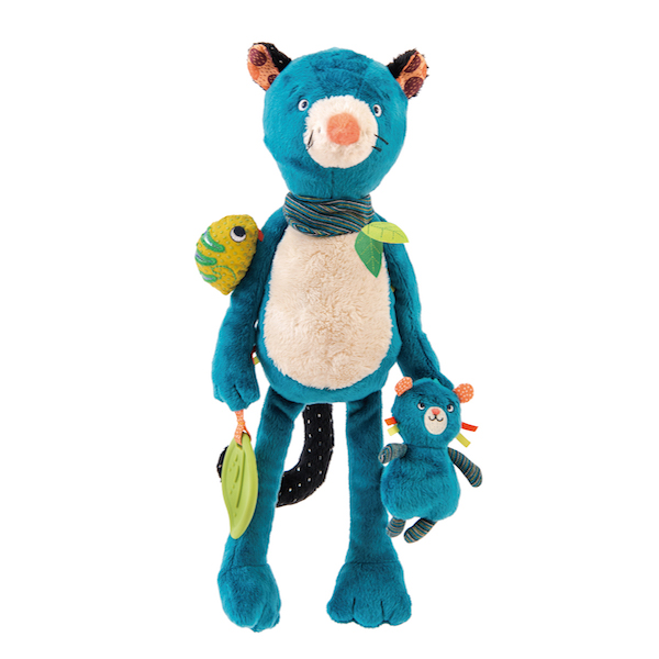 「Dans La Jungle」手あそび抱き人形ジンバ
