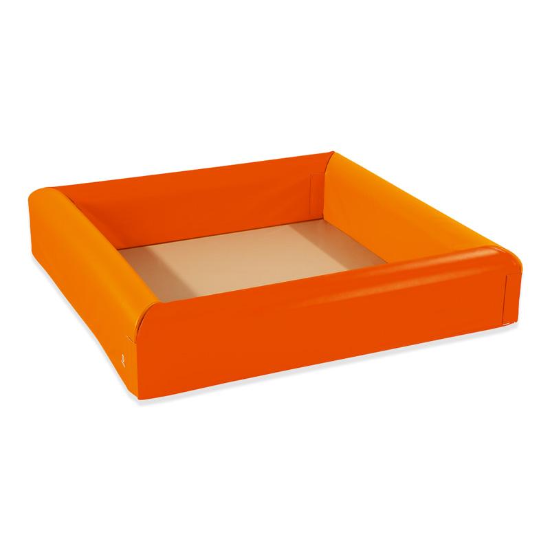 ボールプール 2カラー オレンジ&ライトオレンジ