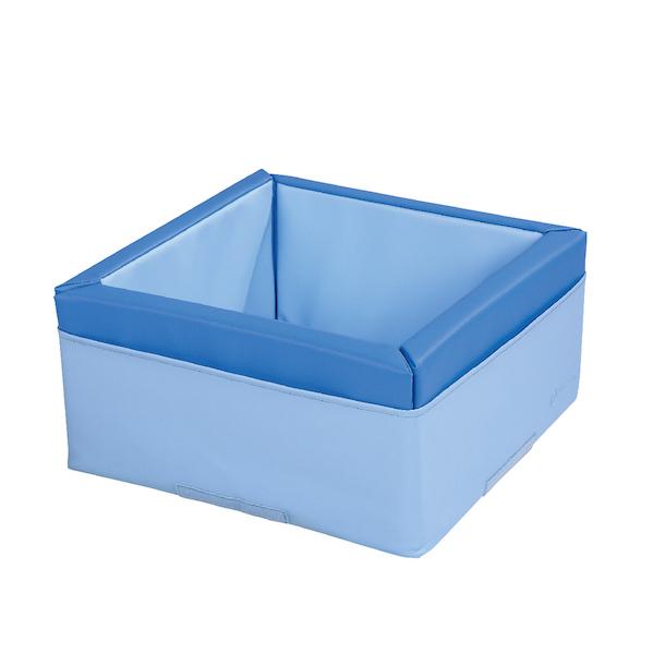 モザイクコンテナ ブルー