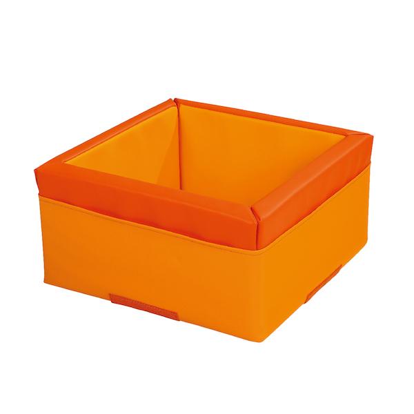 モザイクコンテナ オレンジ