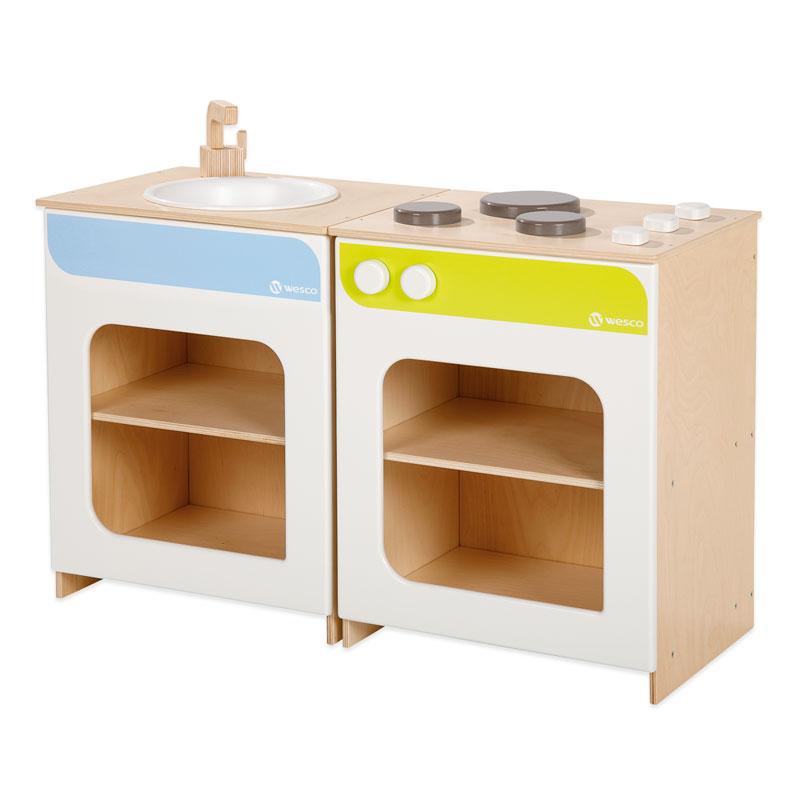 木製キッチン  ユニットシンク
