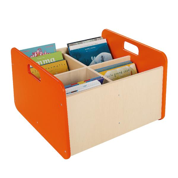 UPシリーズ・収納ボックス(大) オレンジ