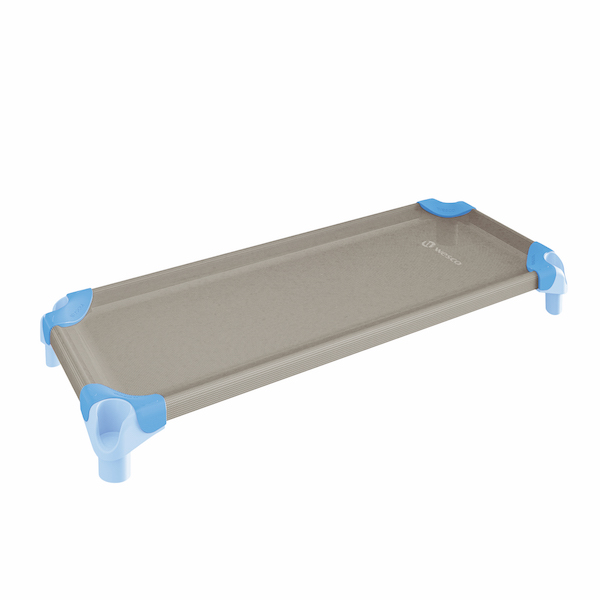 スタッキング・ベッド スモールサイズ (105×54cm)ライトブルー