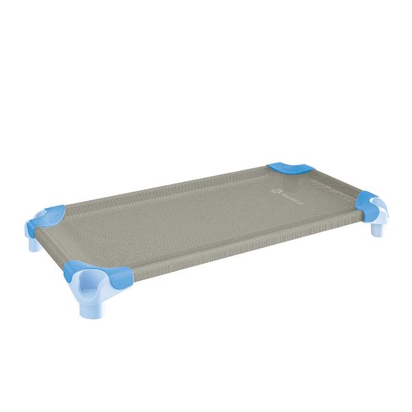 スタッキング・ベッド (130×54cm)ライトブルー